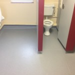 Bathroom floor – Commercial Vinyl