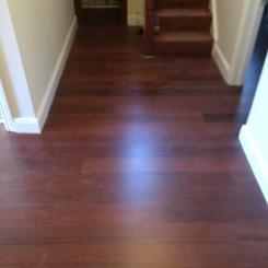 Mahogany Flooring- Hallway