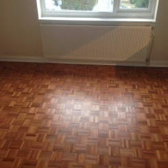Sanded and Sealed Parquet Floooring