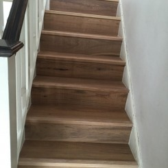 Wooden Staircase Complete