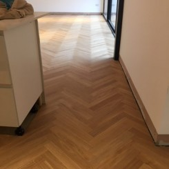 Oak Herringbone Wood Flooring