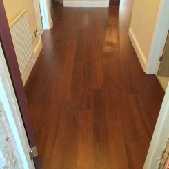 Mahogany Flooring- Entrance Hall