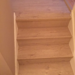 Quickstep Laminate Stairs