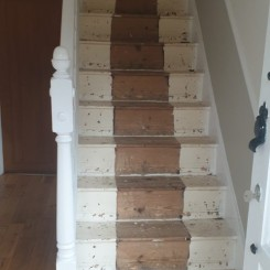 Oak Steps – Before