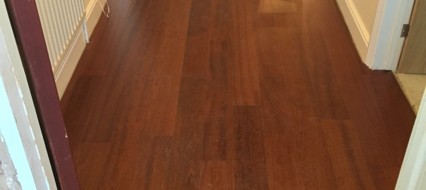 Mahogany Flooring (Brentwood, Essex) - Entrance Hall