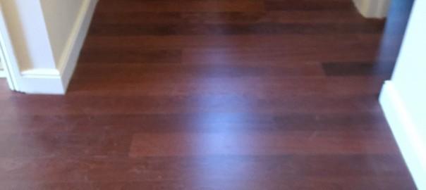 Mahogany flooring (Brentwood, Essex)